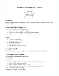 Fresher Accountant Resume Sample Kantosanpo Com