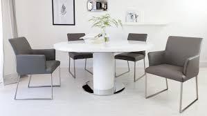outstanding white gloss extending dining table uk round white gloss extending black and white high gloss