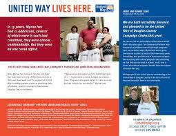 Campaign Brochure 2016 United Way Campaign Brochure
