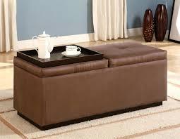 upholstered ottoman coffee table ideas decorative diy storage 12