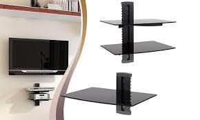 argom tv component shelf groupon goods