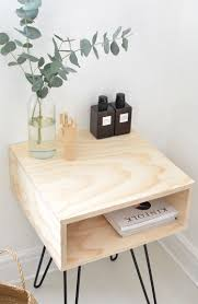 modern plywood furniture. Chic DIY Mid Century Modern Nightstand Plywood Furniture R