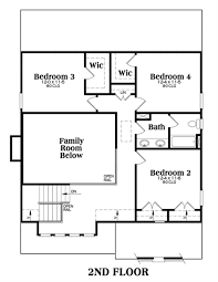 House plan vinings second floor plan