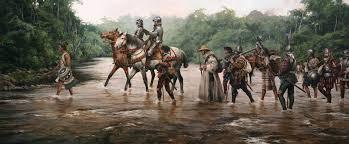 Resultado de imagem para conquistadores españoles