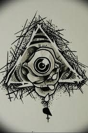 Photo Eye In Triangle Tattoo 03032019 290 Idea For Eye In