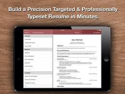 Resume Star Pro Cv Maker And Resume Designer With Pdf Output To