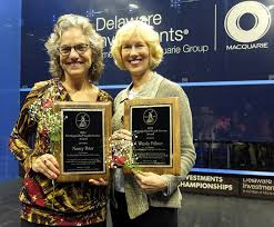 Nancy Peter and Wendy Palmer Honored at U.S. Open | U.S. Open Squash