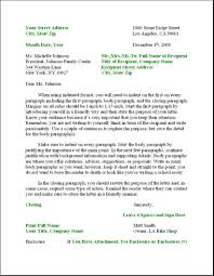 Professional Letter Format Example Business Letter Format Example BusinessProcess 4