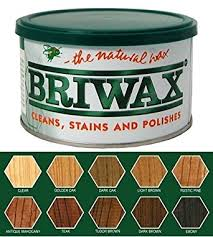 furniture wax. briwax (rustic pine) furniture wax polish, cleans, stains, and polishes t