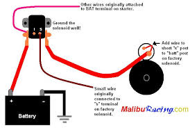 wiring diagram for chevy starter the wiring diagram question for you guys ford solenoids chevytalk wiring diagram · starter
