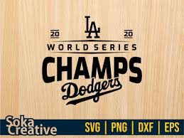 Download online vector and svg cut files for personal and commercial use in jpg, png, svg, cdr, ai, pdf, eps, dxf format at best price. La Dodgers Championship World Series 2020 Svg Vectorency