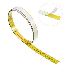 <b>Self</b> Adhesive Inch and Metric Ruler <b>Miter Track Tape</b> Measure Steel ...