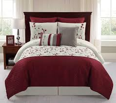 piece embroidered comforter set  sadie  shop your way online