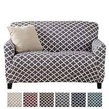 Slipcover Price Chart Home Fashion Designs Printed Stretch Loveseat Furniture