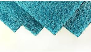 4 x 6 ft blue artificial grass carpet synthetic turf mat indoor outdoor flooring