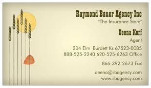 contact Raymond Bauer Agency in Burdett, KS
