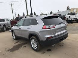 silver billet metallic 2019 jeep cherokee left rear corner photo in cold lake ab