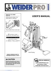 Weider Pro 4850 Exercise Chart Weider Pro 4850 Manuals
