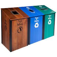 the heritage series multi color 3 bin station