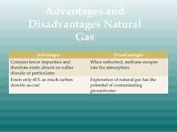 Advantages And Disadvantages Of Natural Gas Nonrenewable Energy Resources