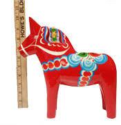 Traditional Swedish Dala Horse, 10