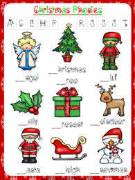 Esl printable christmas vocabulary worksheets, picture dictionaries, matching exercises, word search and crossword puzzles, missing letters in words and unscramble the words exercises, multiple choice tests, flashcards, vocabulary learning cards, esl fidget spinner and dominoes. Christmas Phonics Worksheet Free Freebie By Prestige English Tpt