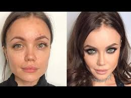 beautiful makeup transformations before after