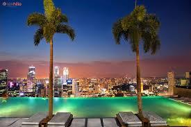 Marina Bay Sands infinity pool Bear Tales
