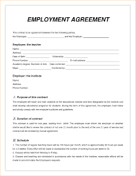 Breach Of Employment Contract Employment Contract Template Doc Templates Resume Examples 24