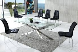 glass dining sets creative of contemporary glass dining tables and chairs modern intended for table inspirations glass dining sets