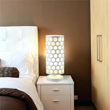 intimate bedroom lighting. Contemporary Intimate Lamps Bedroom Modern Hollow Hexagon Pattern Desk Lamp Cylinder Shape Home  Bedside Table Wedding   Inside Intimate Bedroom Lighting