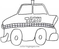 Nos Jeux De Coloriage Taxi Imprimer Gratuit