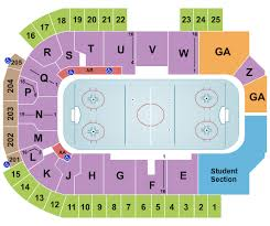 Gopher Hockey Seating Chart The Sanford Center Seating Chart Bemidji