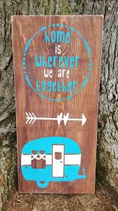 diy rustic camping signs decor and ideas 9