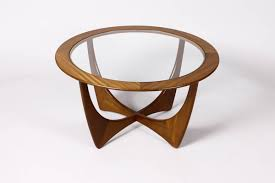 wood and glass round modern coffee table is a perfect material combination mid century modern round