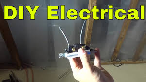 how to remove wiring pushed into a light switch diy electrical