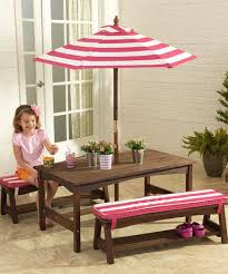 kidkraft pink white stripe outdoor