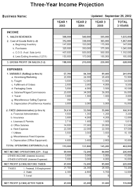 Projected Income Statement Template 24 Projected Income Statement Template Infinite Vizarron 6
