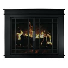 gallery pictures for glass front electric fireplace