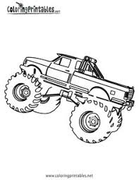 Small Picture print pictures Free Printable Monster Truck Coloring Pagjuies
