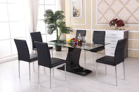 Glass Dining Table With Chairs Round Glass Dining Table Round Dining Table Best Dining Room