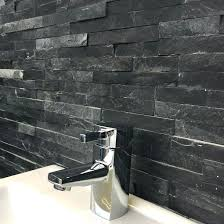 home depot bathroom wall tile bathroom wall tiles slate black split face tile installing home home