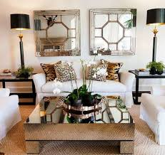 ideas for decorating glass coffee table