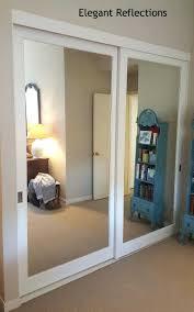 mirrored sliding closet doors bedrooms ideas door track for and stunning replacement 2018