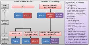 Antithrombotic Therapy In Acs And Cad Patients Comparison