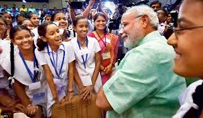 modi starts a new chapter in education as make in boosts  the narendra modi government is passionate about education although it has been censured at times