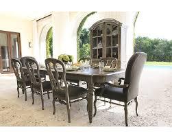Light Oak Dining Room Furniture Image Rectangular 9pc Belgian Oak Rectangular Dining Table And