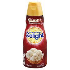Well that's it, that's the ingredients list for international delight coffee creamer hazelnut flavor…. International Delight Coffee Creamer Cold Stone Sweet Cream 32 Fl Oz Randalls