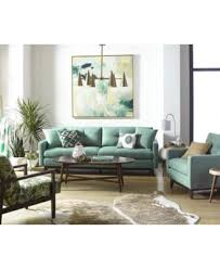 Nari Tufted Back Sofa with 2 Toss Pillows Created for Macy s
