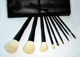 all pure fine goat squirrel subsute and kolinsky sable makeup brush set